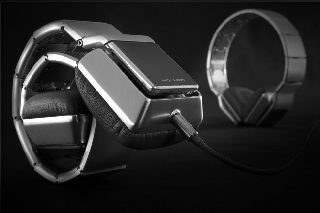 Luzli Roller MK01, los auriculares que se enrollan