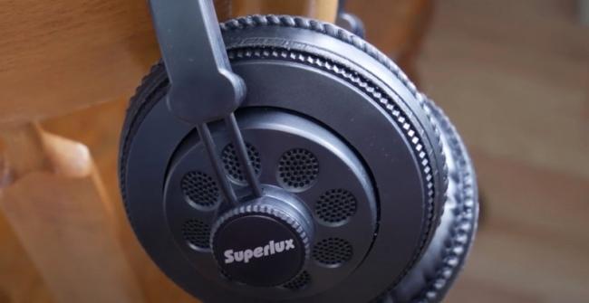 Review de los auriculares Superlux HD668B